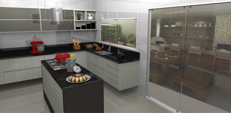 Moveis Planejados Para Cozinha Comprida Cozinha Completa M Veis